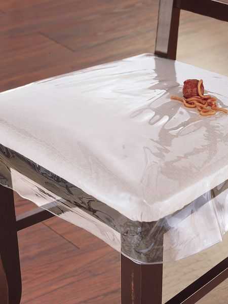 Plastic Chair Protector   Clear Seat Cover   Made In USA