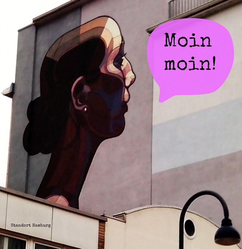Street art in der Großen Bergstraße Standort Hamburg