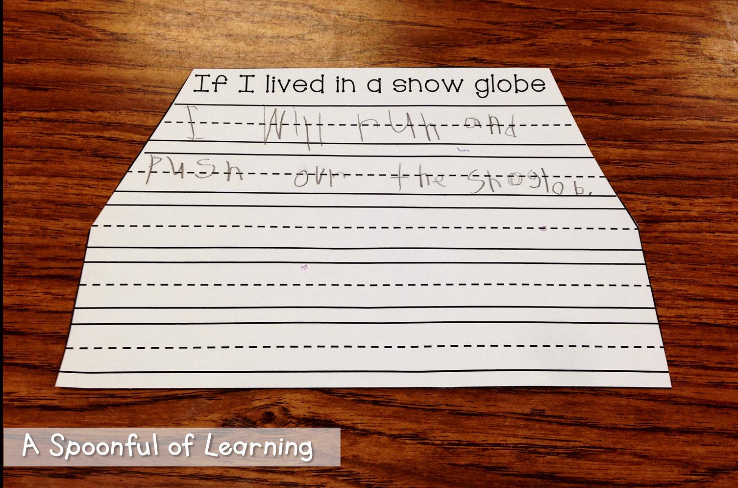 A Spoonful Of Learning Winter Fun Kindergartens Pinterest