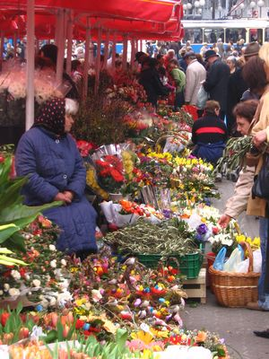 2007, Zagreb, Croatia, outdoor market by Christopher Cotton