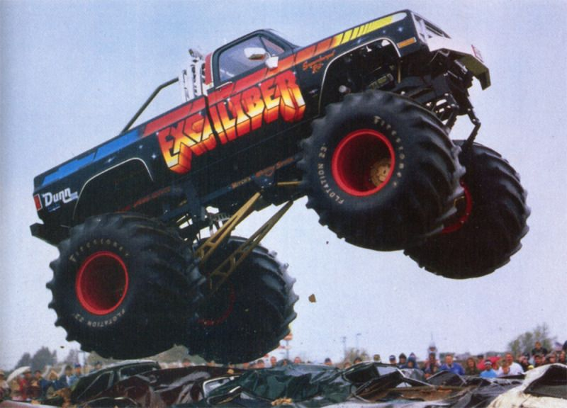 Bad ass monster trucks