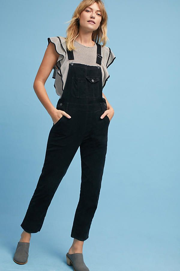 purchase genuine vivid and great in style popular stores AG The Leah Straight Cropped Overalls | Get In My Closet ...