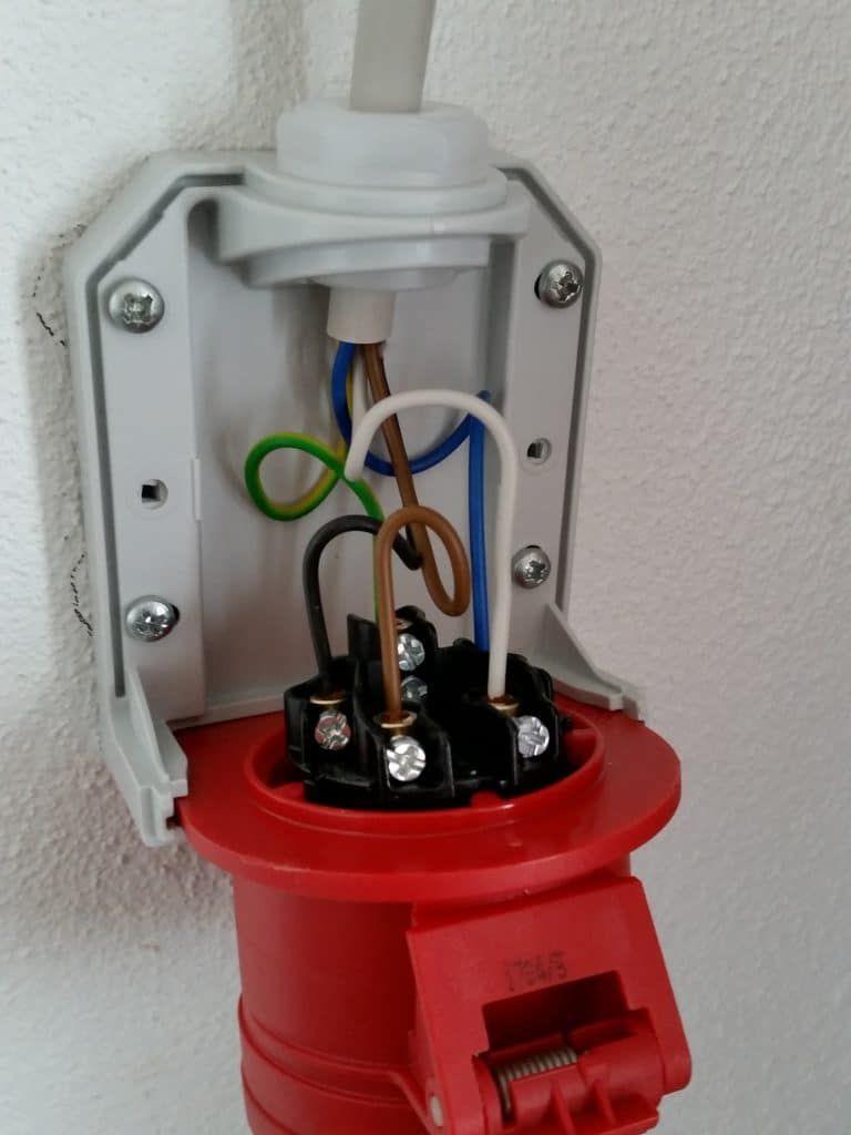 Starkstromanschluss Elektroinstallation Elektroinstallation