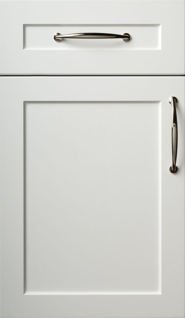snow white cabinet door  Kitchen Ideas  White kitchen