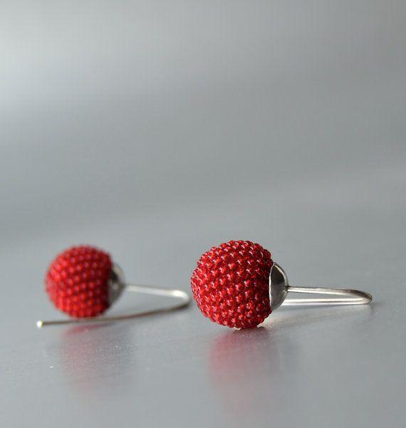 red earrings!