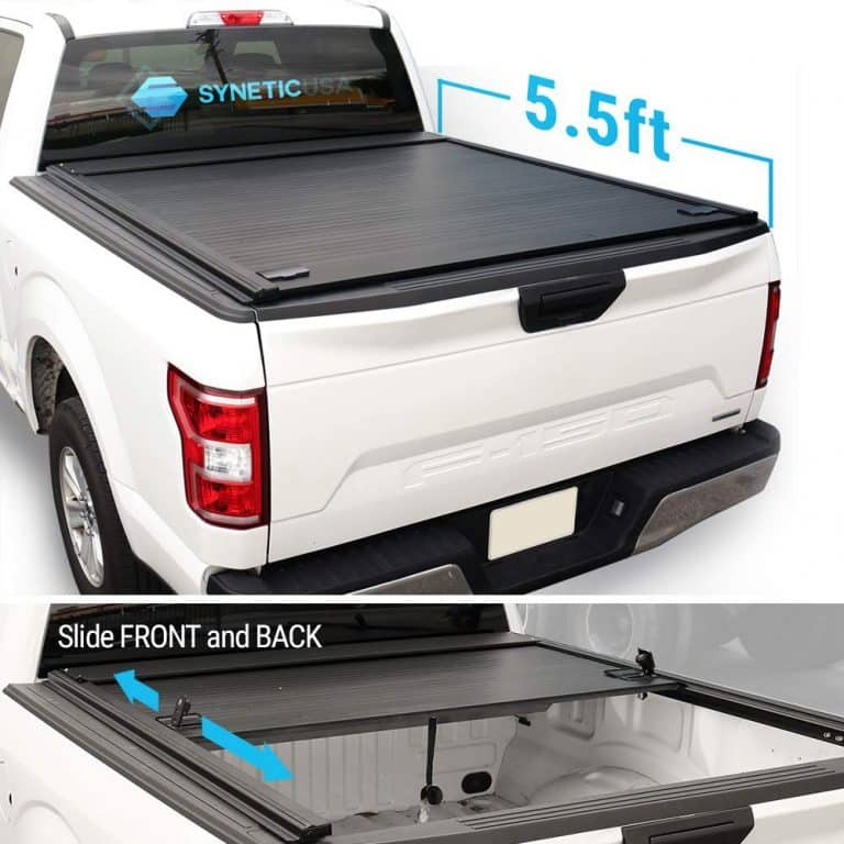 Syneticusa Aluminum Roll Up Tonneau Cover Best Truck Bed Covers Truck Bed Covers Hard Tonneau Cover