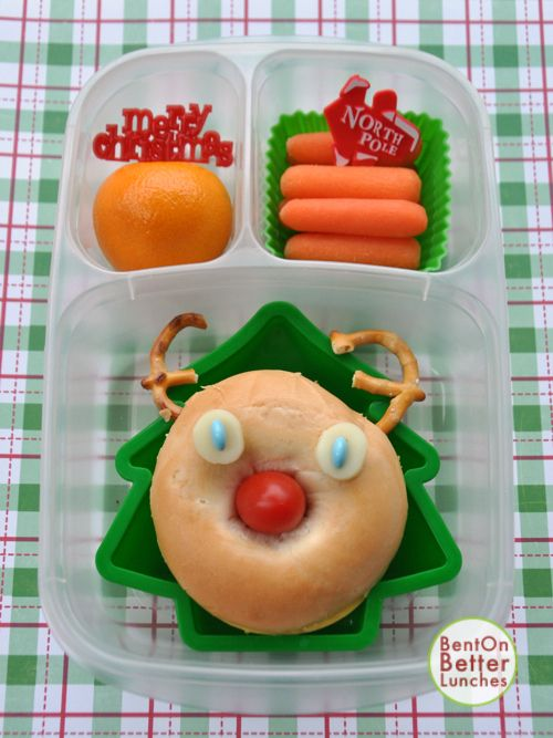 BentOnBetterLunches Rudolph The Red Nosed Reindeer