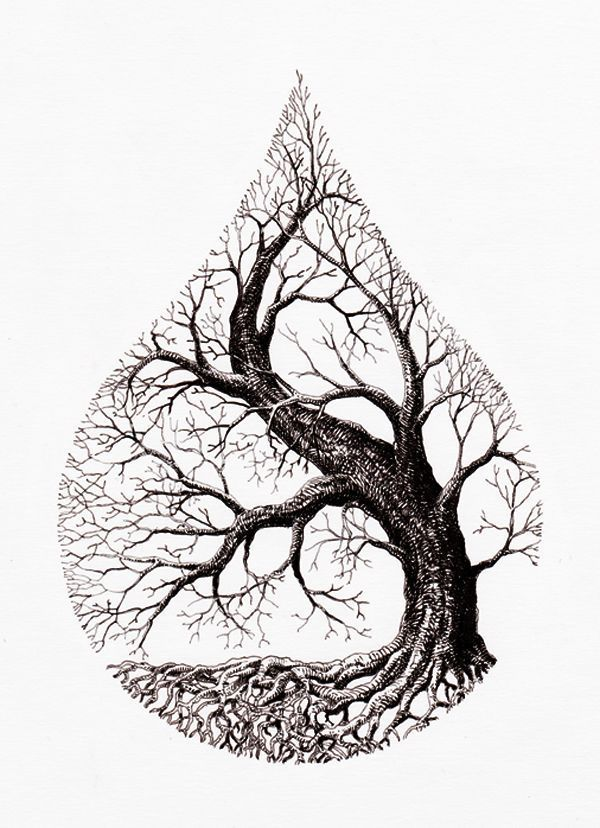 Tree Tattoo  water drop tree  Tree Tattoo  water drop tree   Your Number One source for daily Tattoo desig