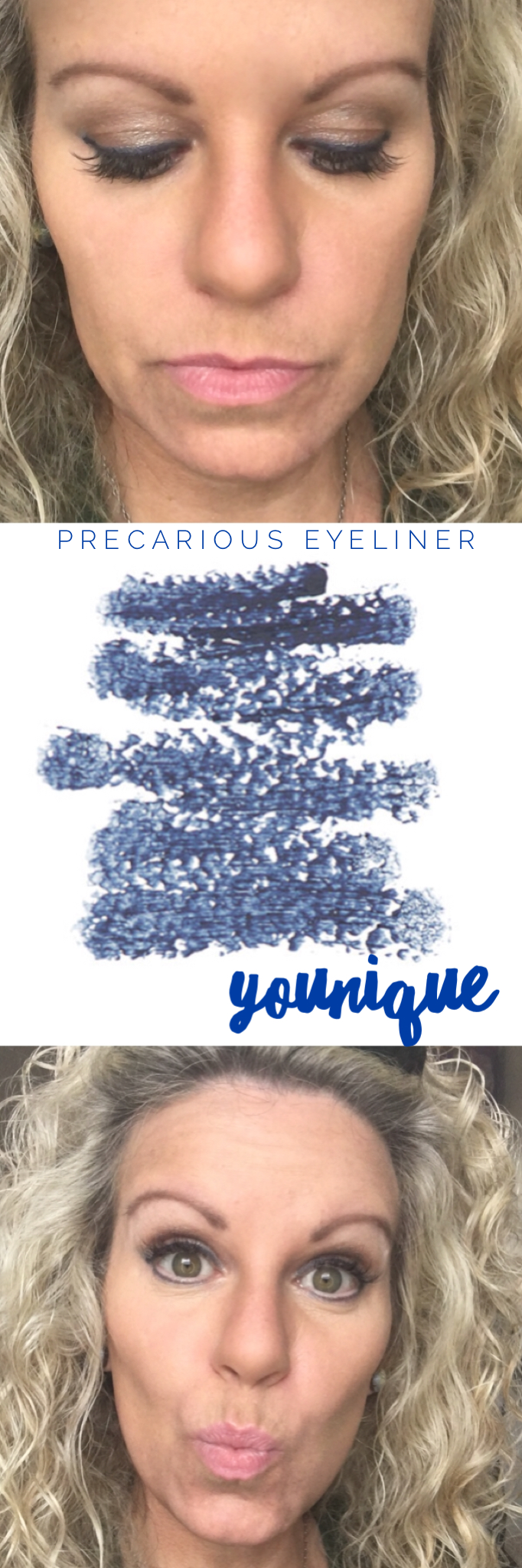 Younique blue eye liner