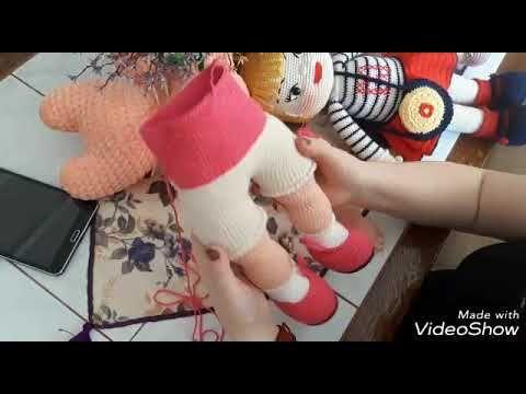 Amigurumi Bebek Gövdesi : Amigurumi zeynep bebek gövde yapımı amİgurumİ