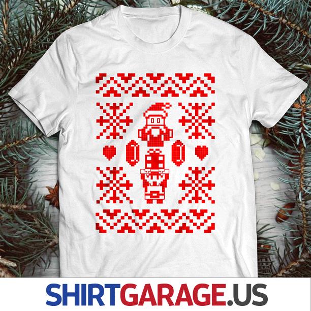 Zelda themed ugly Christmas design silkscreened onto a t shirt.  . . . #zelda #link #ganon #8bit #nes #nesclassic #retrogaming