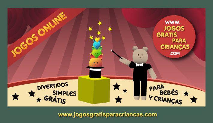 Jogos Educativos Para Criancas Boris O Magico Games For Toddlers Toddler Games Online Baby Games