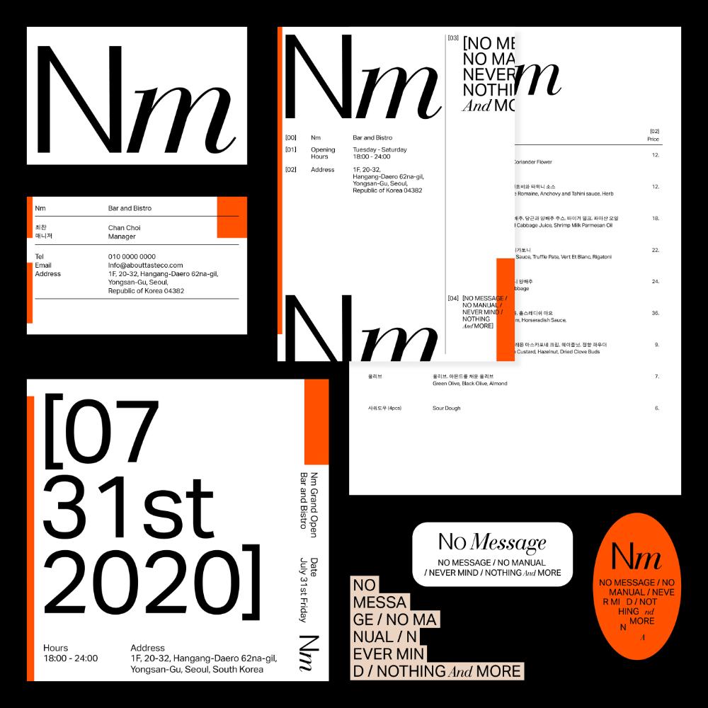Bi Design For Nm On Behance In 2020 Graphic Design Posters Layout Minimalist Graphic Design Brand Identity Design