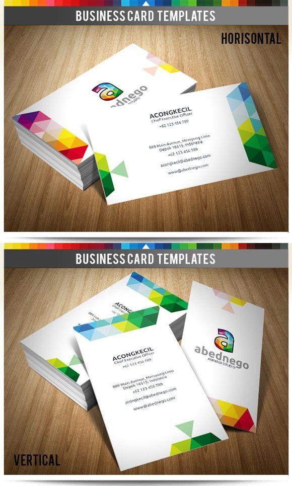 Premium business card abednego creative business card templates premium business card abednego creative business card templates reheart Images