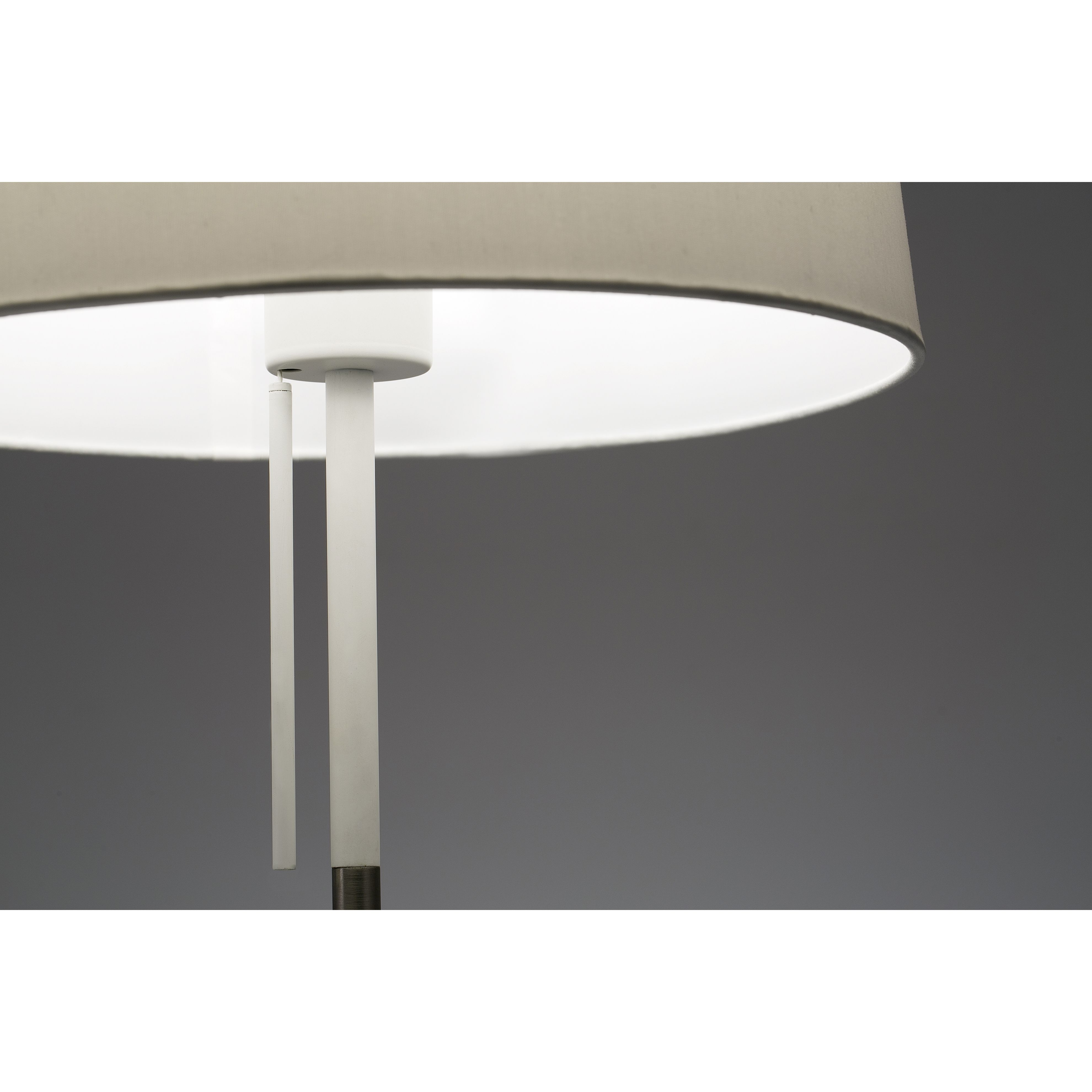 VOLTA white table lamp