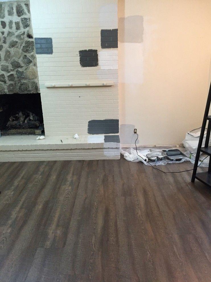 Coretec Atlas Oak Vinyl Plank Flooring Kitchen Hardwood Floors Wet Bar Bat