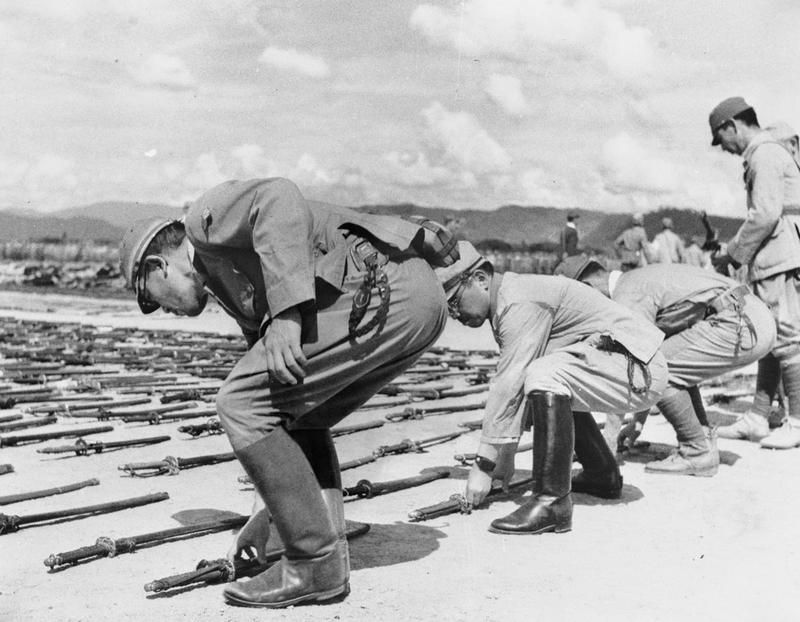 the japaneses surrender during the world war two Japanese relocation during world war ii background president franklin delano roosevelt declared that the day of the japanese attack on pearl harbor, december 7, 1941, would live in infamy.