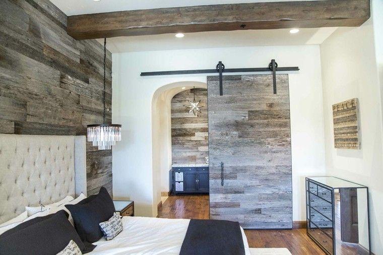 Puertas correderas de madera para el cuarto de baño Mixers - puertas de madera para bao