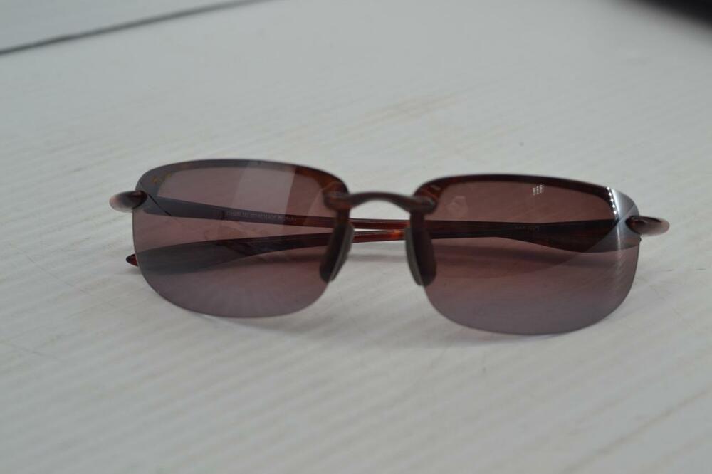 f83f72cb4d Maui Jim MJ407-10 Tortoise Maui Rose Polarized Sunglasses W Case Used