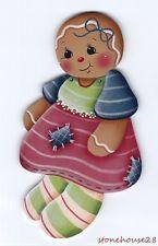 HP GINGERBREAD Doll FRIDGE MAGNET