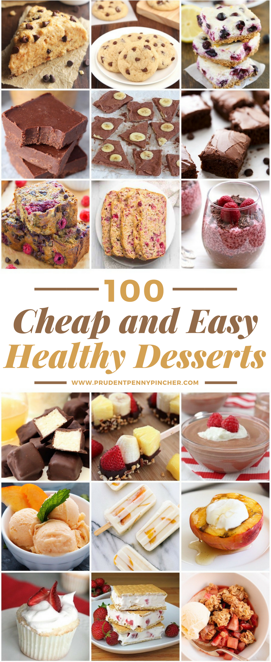 100 Cheap And Easy Healthy Desserts Healthy Desserts Easy Dessert Recipes Cheap Desserts