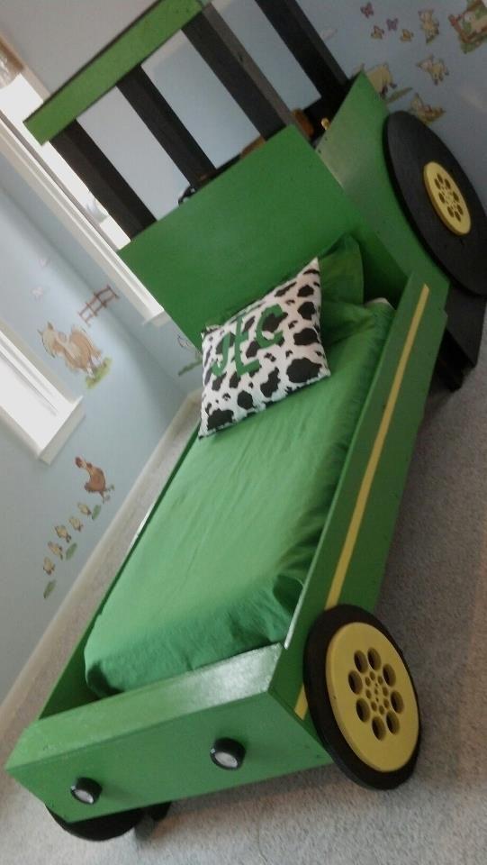 We Could Make This Tractor Bed Grand Baby Ideas Pinterest - John deere idees de decoration de chambre