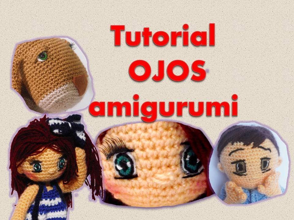 Tejido Amigurumi Tutorial : Tutorial como hacer ojos para amigurumis amigurumi pinterest