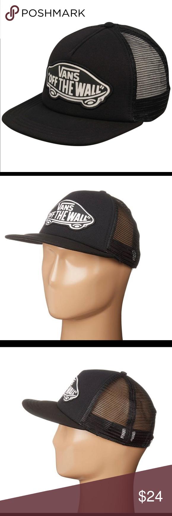 a4ea8efe510 Vans Beach Girl Women s Trucker Hat - Onyx   White The Beach Girl Women s  trucker hat