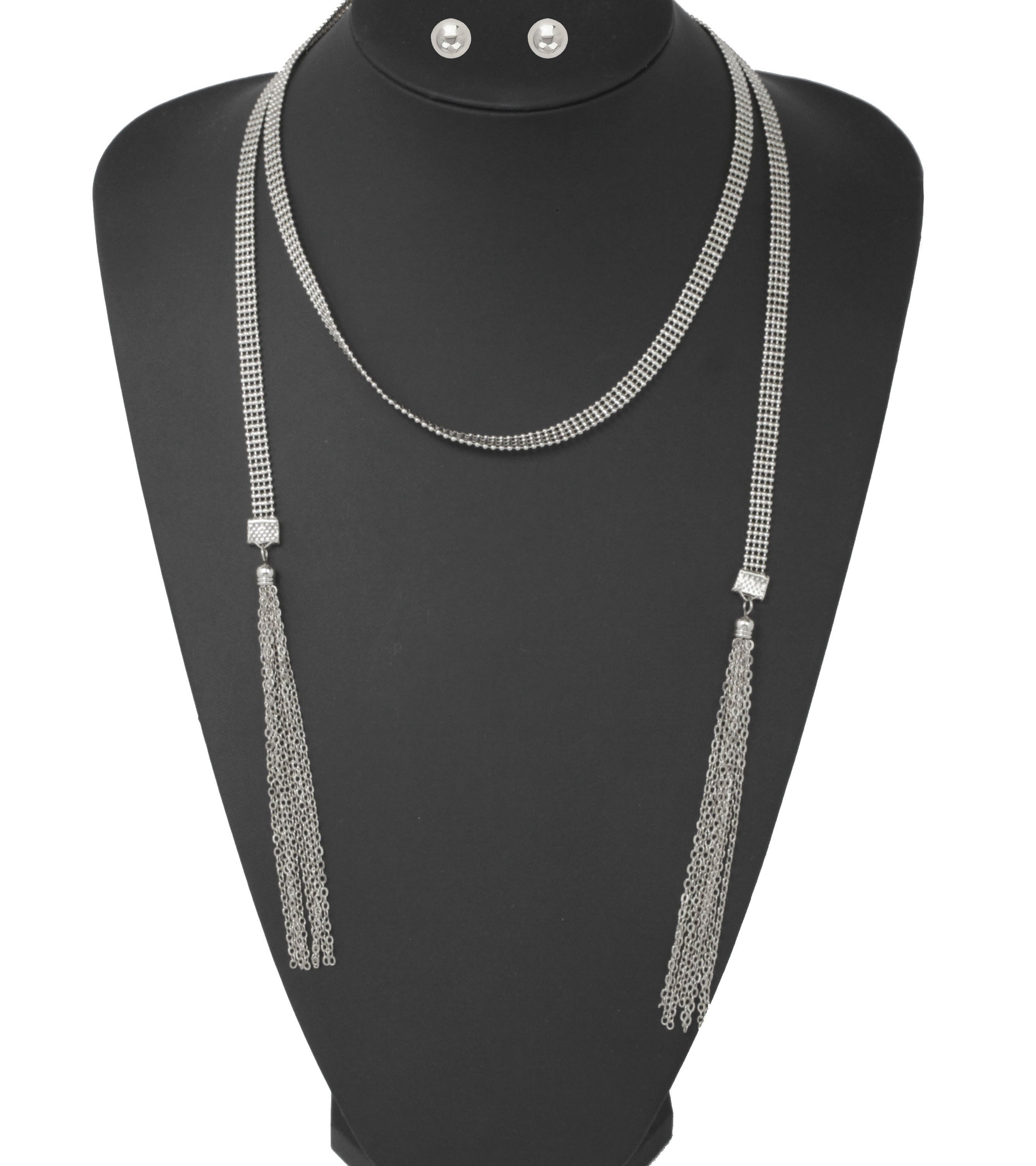 Multi chain lightweight choker necklace set choker necklaces and