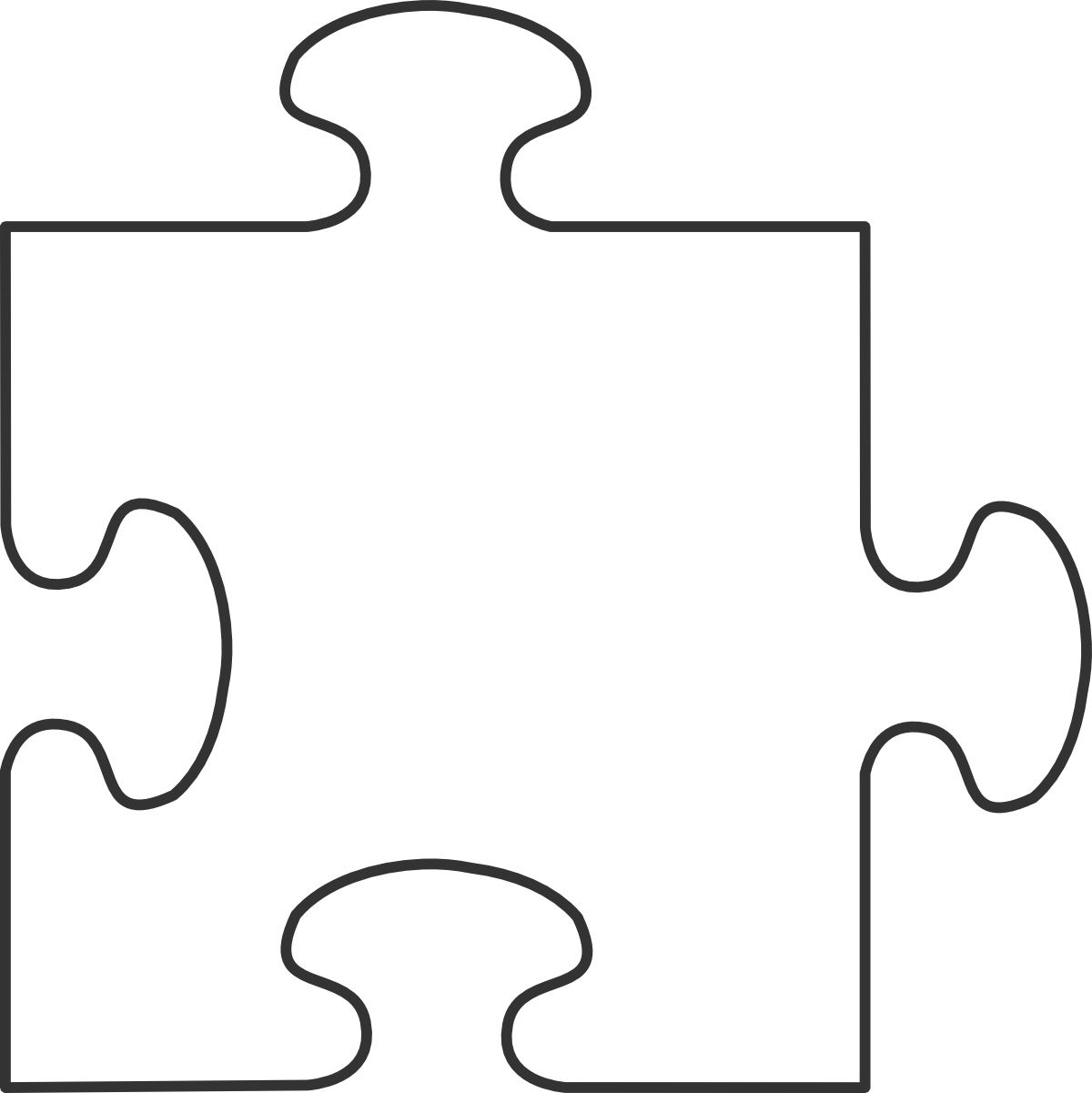 hight resolution of puzzle border clipart best