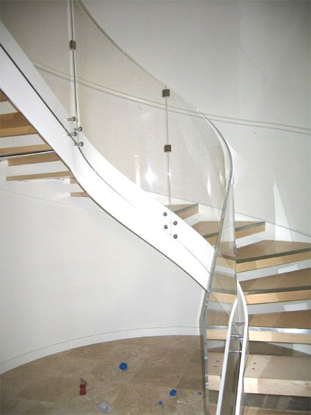 Best Acrylic Stair Rail Google Search With Images Stair 640 x 480