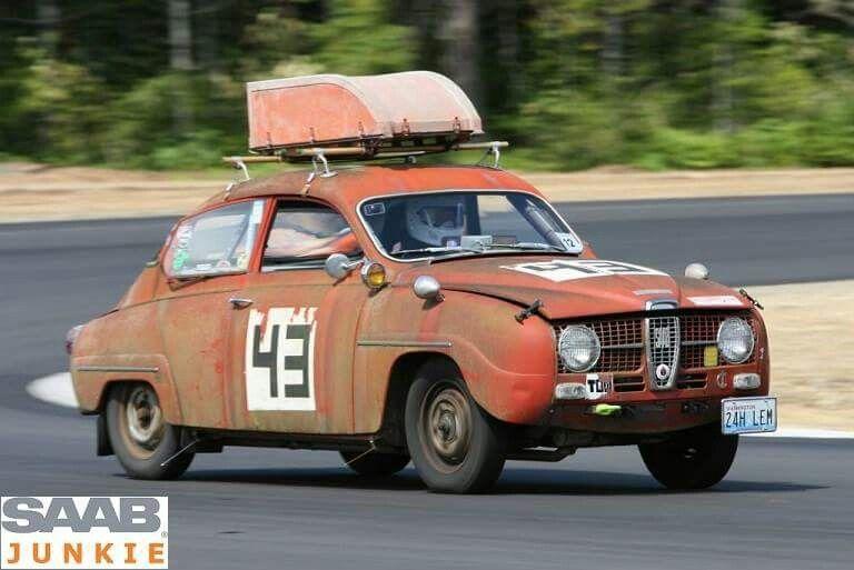 Saab 96 V4 Saab, Rally racing