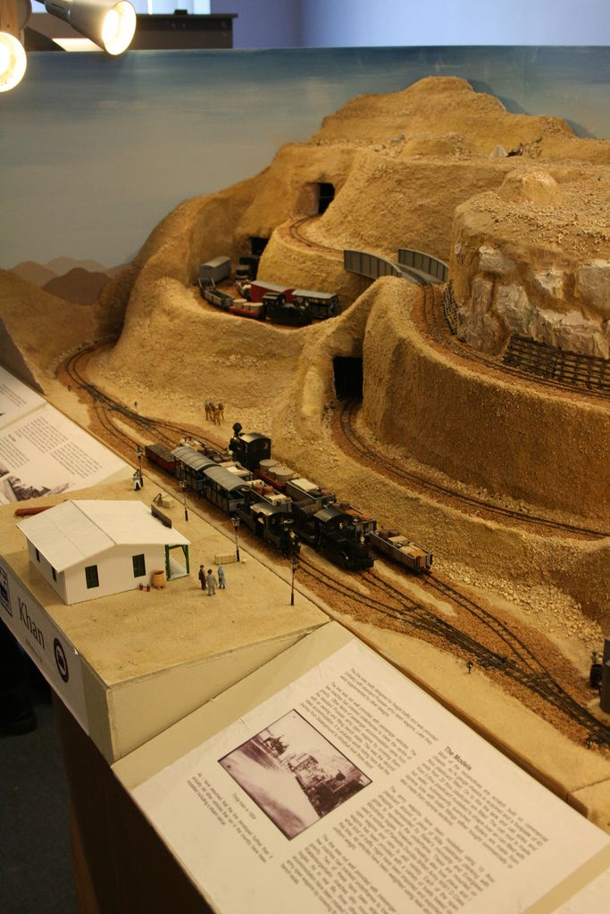 Unusual but brilliantly executed modelling of German military railways in Namibia. Layout by Julian Evison