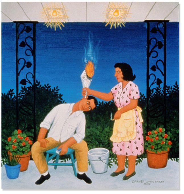 carmen lomas garza The Fair at Reynosa - Google Search | Paintings ...