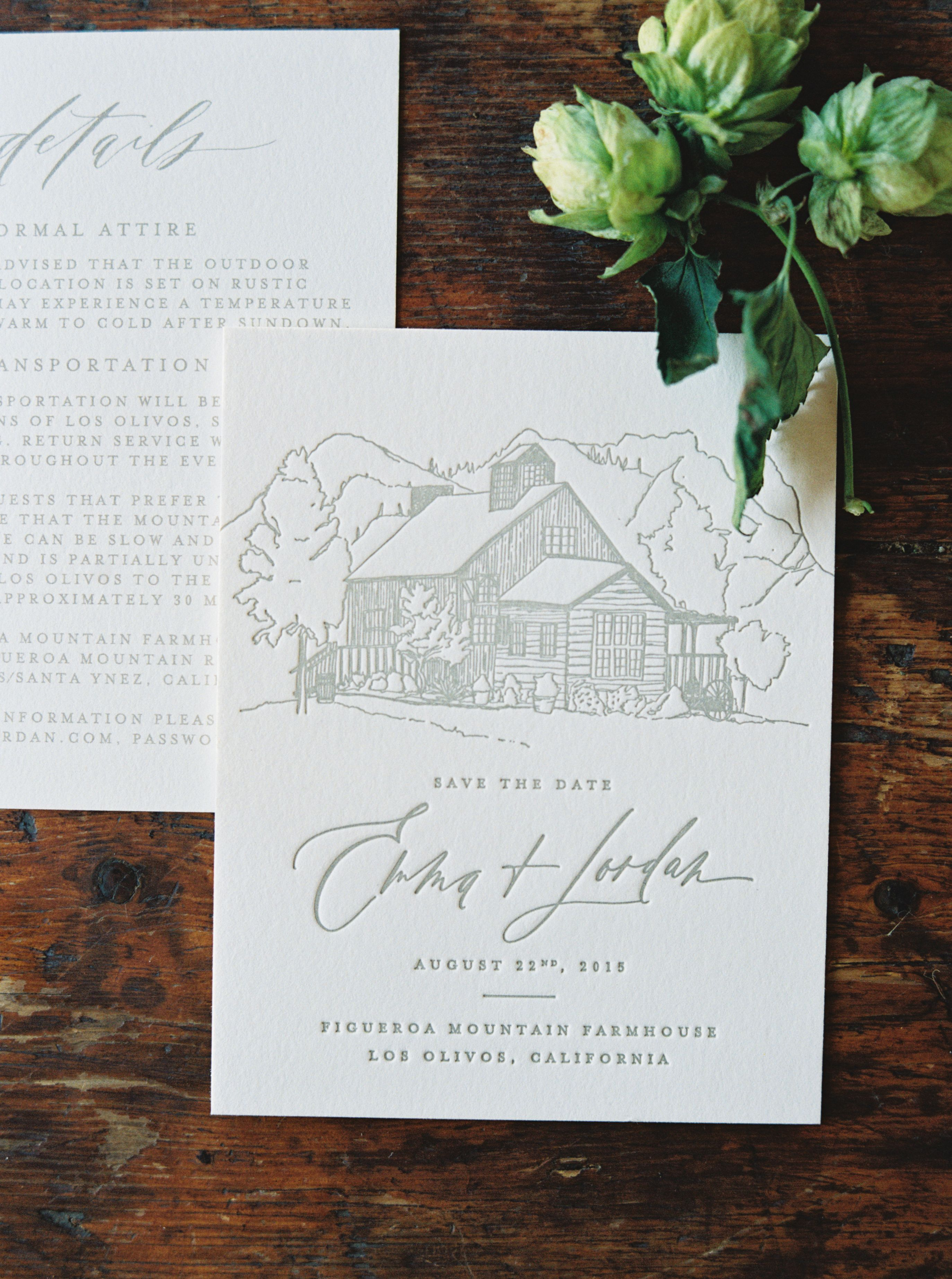 inviting for wedding words%0A Calligraphy and Design by  Written Word Calligraphy    Figueroa Mountain  Farmhouse    Erich