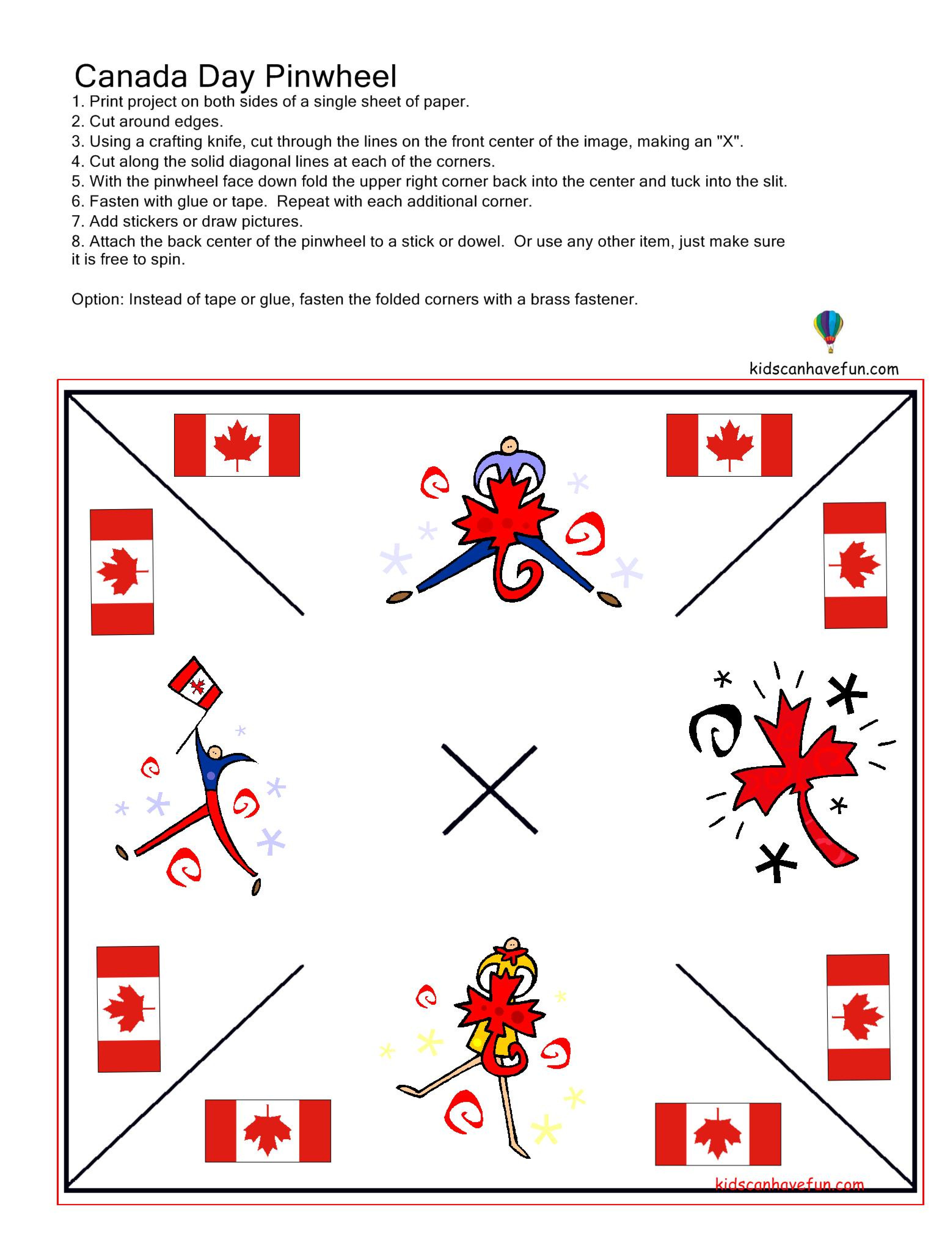 Pin By Kidscanhavefun On Canada Day Printables