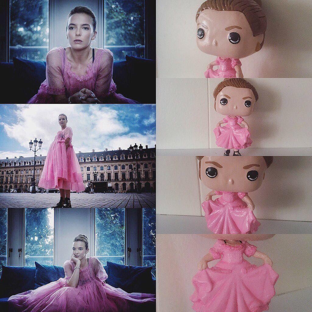 Villanelle In The Pink Dress From Killingeve Episode 2 Customfunkopop Is Done Killingeve Probably My Fave One I Ve Custom Funko Pop Custom Funko Pop Vinyl [ 1024 x 1024 Pixel ]