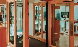 Airlock Double Door System