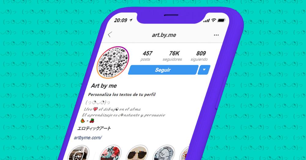 Letras Para Instagram Cómo Cambiar La Letra De Mi Bio Y Mis Publicaciones Textos Para Instagram App De Instagram Instagram