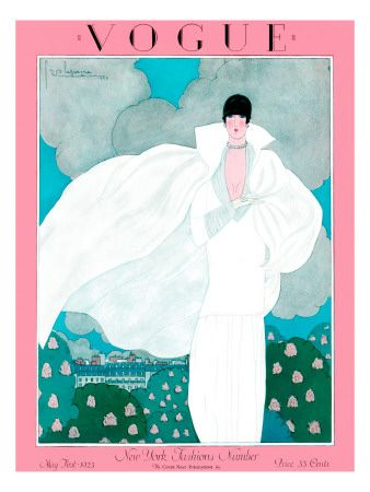 Remembering The Great: Georges Lepape, Vogue cover May 1925