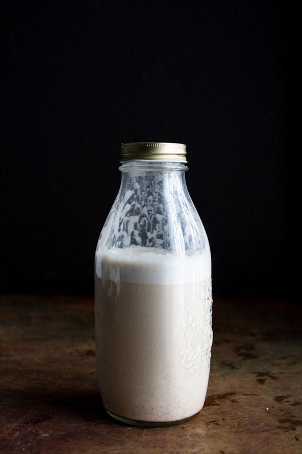 Vanilla-Cinnamon Almond Milk   Recipe   Homemade almond ...