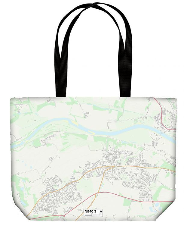Shopping Bag Gateshead NE40 3 Map