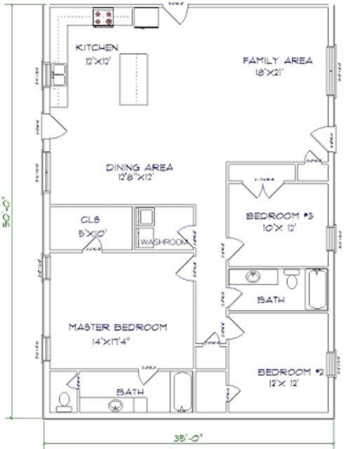 3 BEAST Metal Building Barndominium Floor Plans And Design Ideas For YOU Pole Barn
