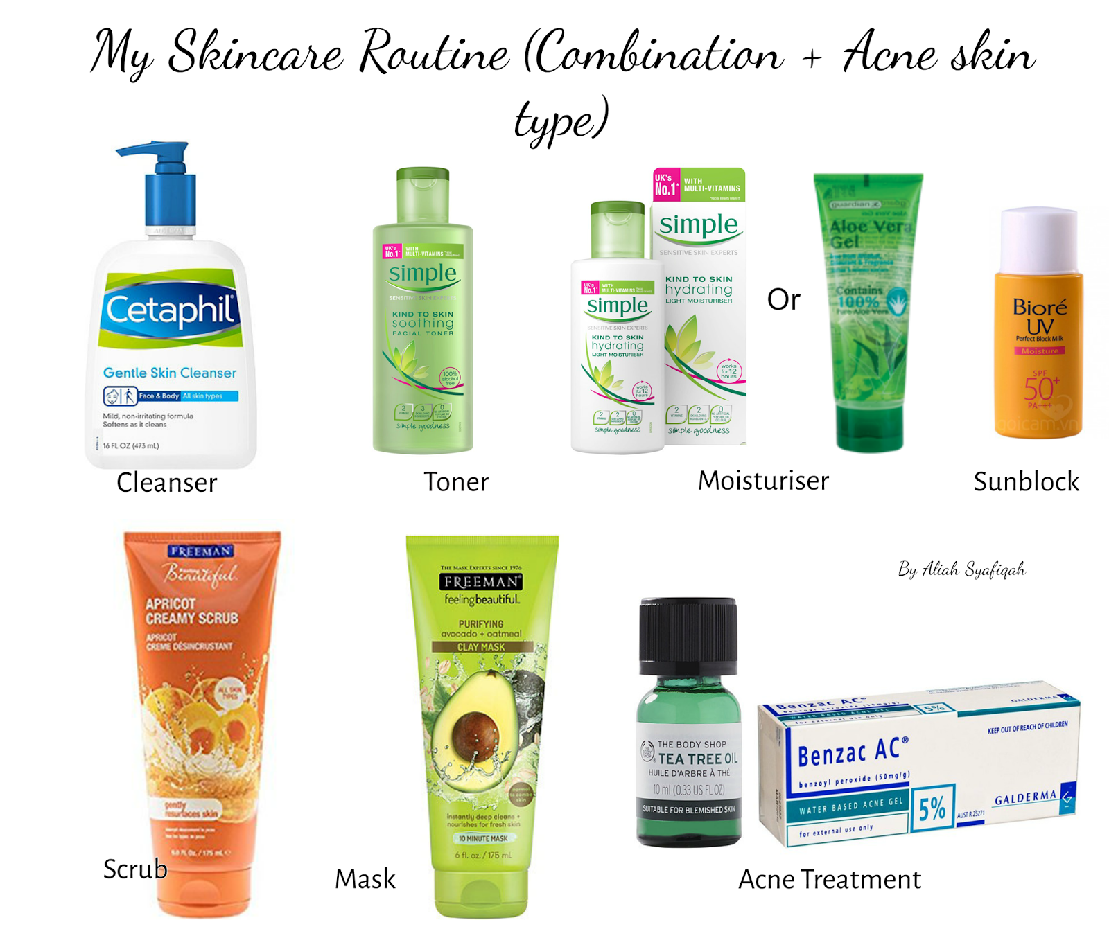 Skin Care Products Malaysia Videos My Skincare Routine Combination And Acn Combination Skin Care Routine Combination Skin Care Skincare For Combination Skin