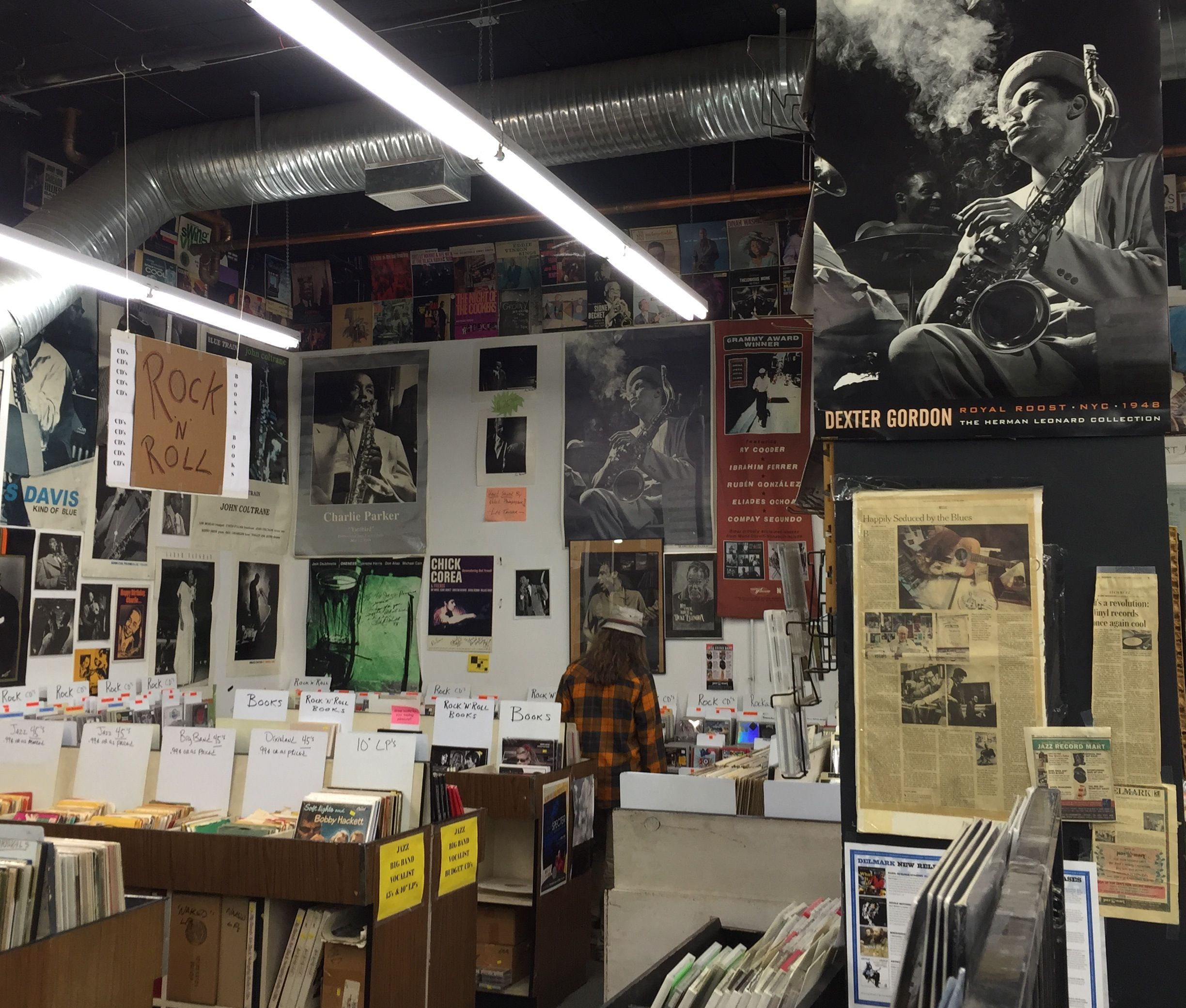 Chicago's Jazz Record Mart - angle 3