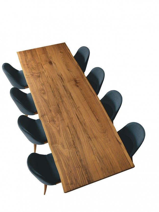 Esstisch B 185 Walnuss massiv   Holztisch, Esstisch, Tisch