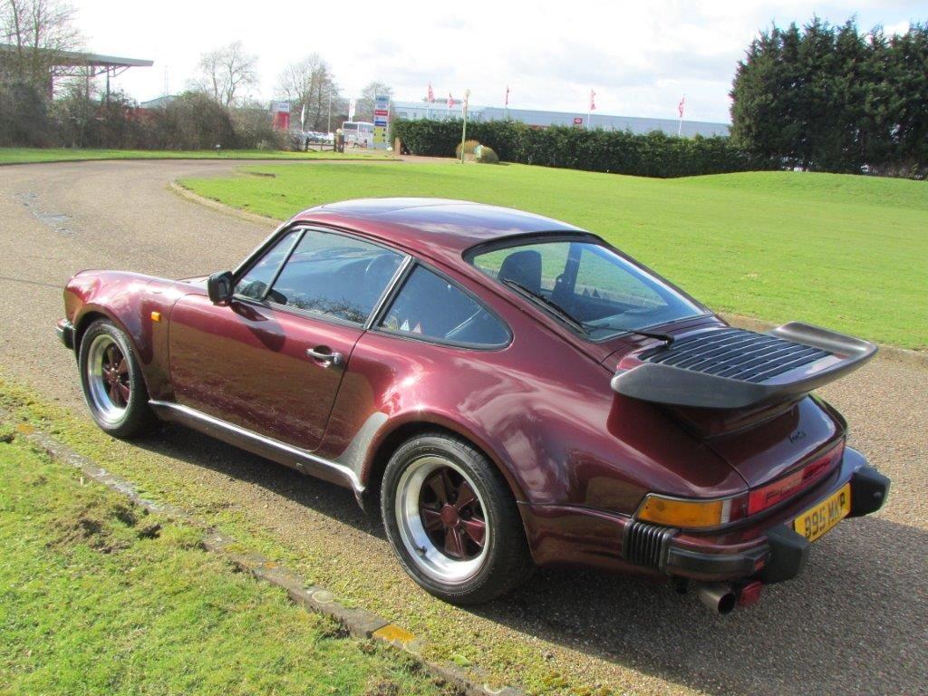 1985 Porsche 930 Turbo Estimate: £42,000 - 46,000