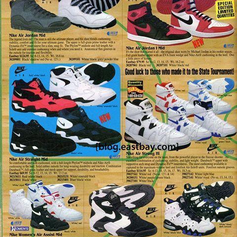 new styles cd749 4f4b3 cheap air jordan 10 steel holiday 1994 c2f58 1f9b3  australia image result  for nike eastbay catalog vintage 1990s 53530 3572a