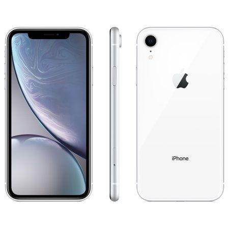 new arrival 4fa1f 1fd6a Walmart Family Mobile Apple iPhone XR w/64GB, White in 2019 ...