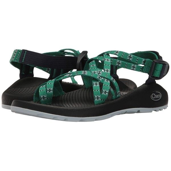 8412009ae2d7 Chaco ZX 2 Classic (Eclipse Green) Women s Sandals ( 105) ❤ liked on  Polyvore featuring shoes